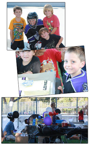 Burbank Roller Hockey Birthday Parties