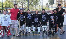 Youth Roller Hockey - Roller Kings (8 and Under)