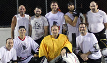 Ball Hockey - 1st Place Team - Lamp Lighters