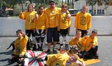 Youth Roller Hockey - Roller Kings (13 and Under)